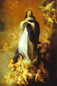 Picture of Our Lady of the Immactulate Conception