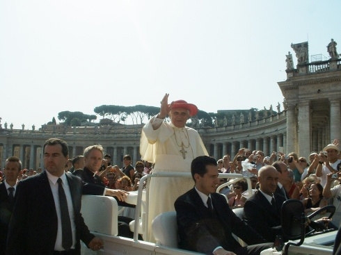 Pope Benedict Papal Audience August 2007