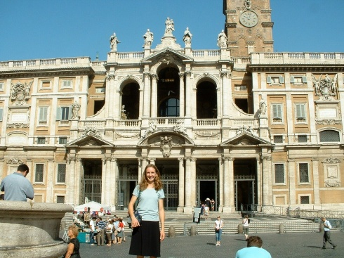 Saint John Lateran Basilica (and me)