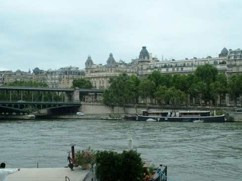 The Seine River in Paris, France