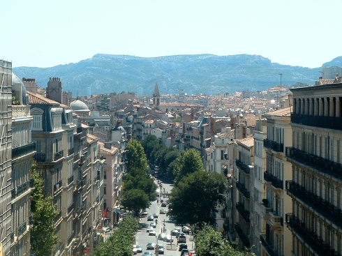 Some city that I can't remember in France - isn't it beautiful?!